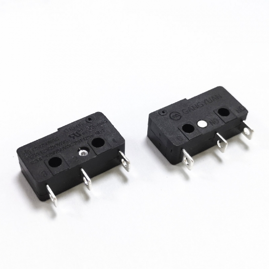 3 Pin no lever micro switch